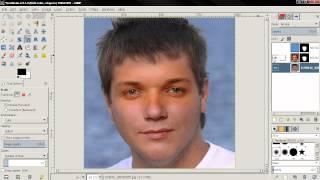 Realistic Face Swap (bonus video) - GIMP 2.8 Tutorial