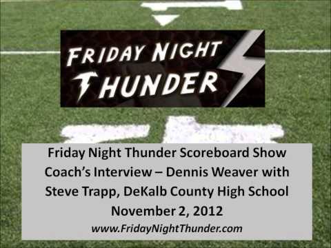 Steve Trapp, DeKalb County High School - 2November2012