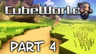 Cubeworld Multiplayer - Big Bird Boss with ockpii! #4