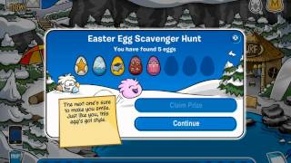 Club Penguin - Easter Egg Scavenger Hunt 2012 (Cheats)