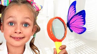 Maya learns insects - Songs for kids with Maya and Mary