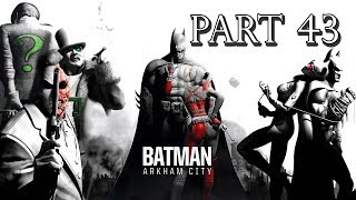 Batman: Arkham City - Walkthrough - Part 43 - Wonder City Trophies
