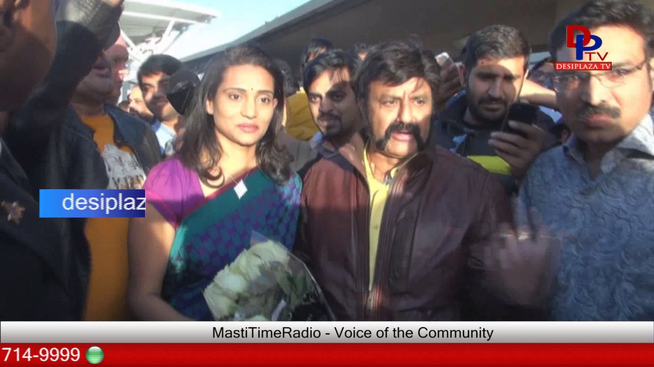 Bodygaurds could not control Nandamuri Balakrishna visit to Dallas for Gautamiputra Satakarni | 2017