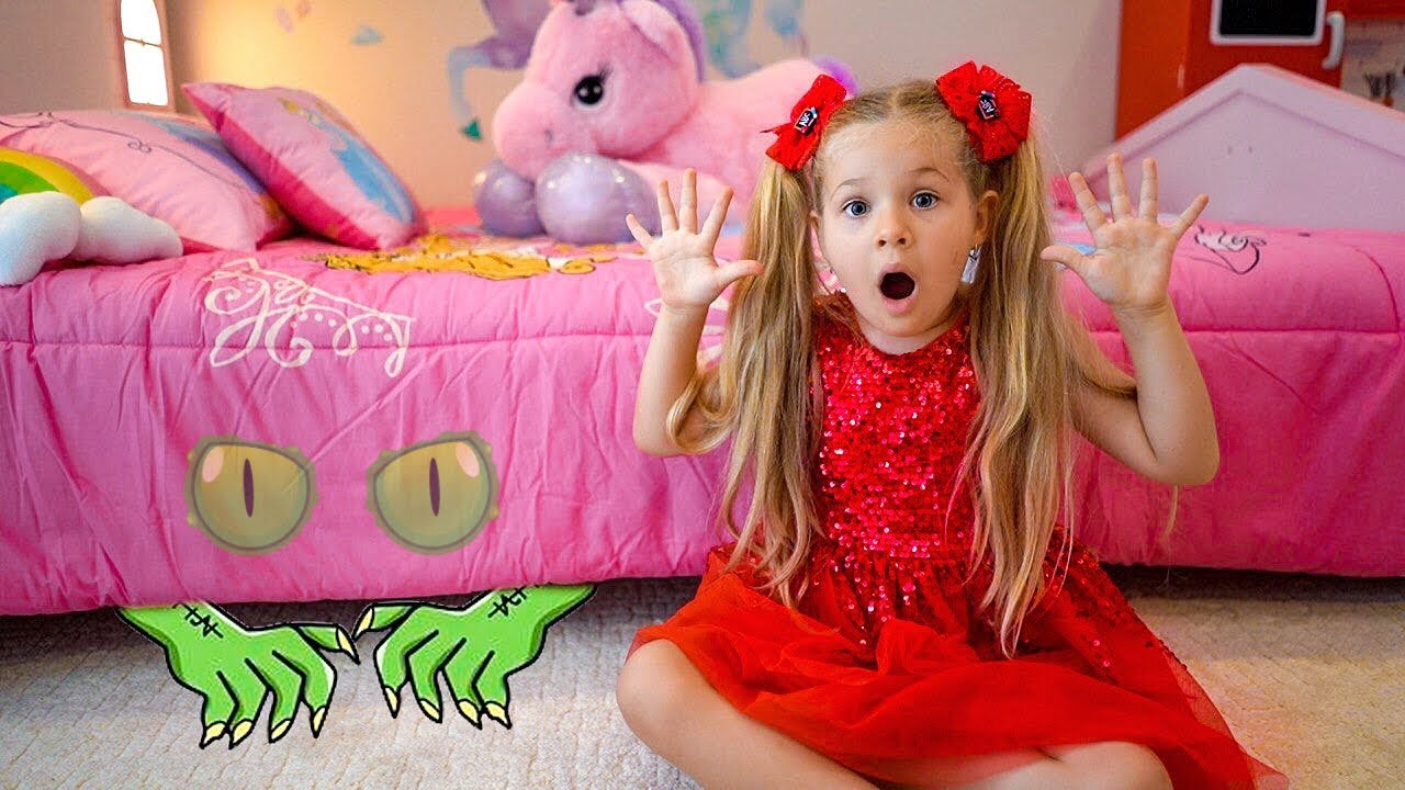 Download Diana and Roma - Monster under the bed story