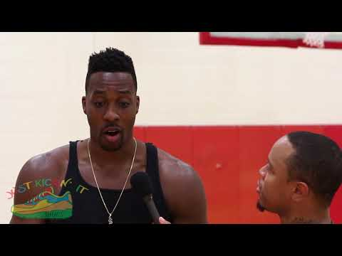 Dwight Howard Talks Wizards, John Wall, Future's