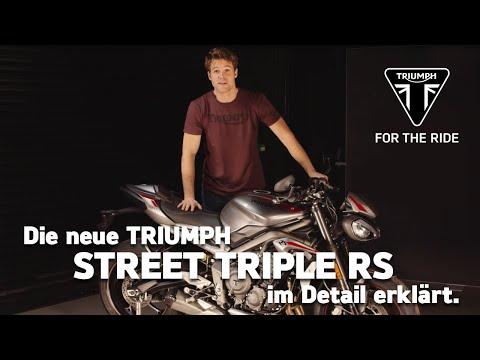 Die neue Triumph Street Triple RS - im Detail erklärt