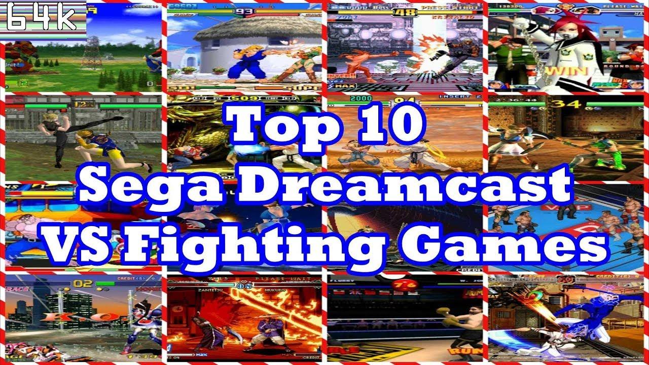 Top 10 Sega Dreamcast Fighting Games Youtube