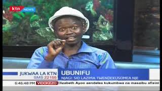 Mwalimu kageuka Mhandisi, aunda tinga tinga la kuchimba( Bulldozer) | Jukwaa la KTN Part 2