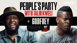 Talib Kweli And Godfrey Talk Rappers vs. Comics, Studying Bernie Mac, Snoop Dogg | People's Party