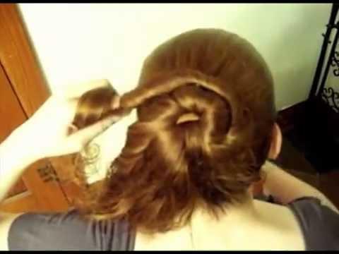 Video Búi tóc hoa nghệ thuật