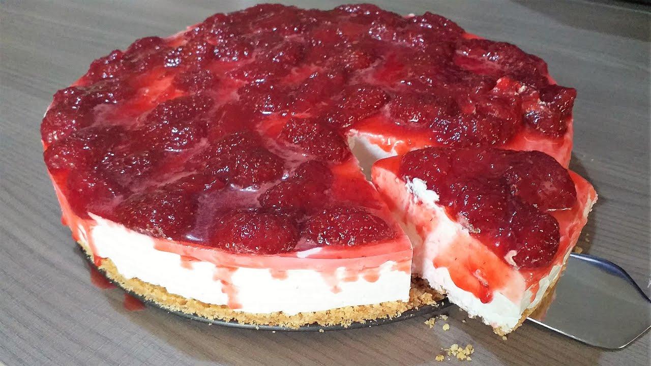 cheesecake φράουλα