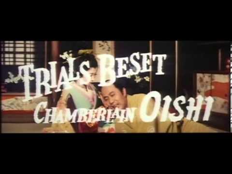 Chushingura   Hana no maki yuki no maki aka 47 ronin 1962