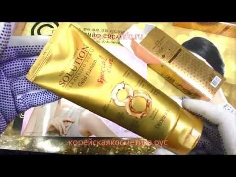 очищающая пенка DEOPROCE NATURAL PERFECT SOLUTION CLEANSING FOAM GOLD EDITION