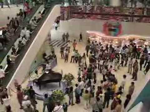 Pop song Live performance at Maritime Square - Miranda Wong Piano Solo