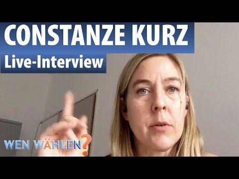 Interview mit Constanze Kurz, CCC-Sprecherin und netzpolitik.org-Redakteurin – Bundestagswahl 2017