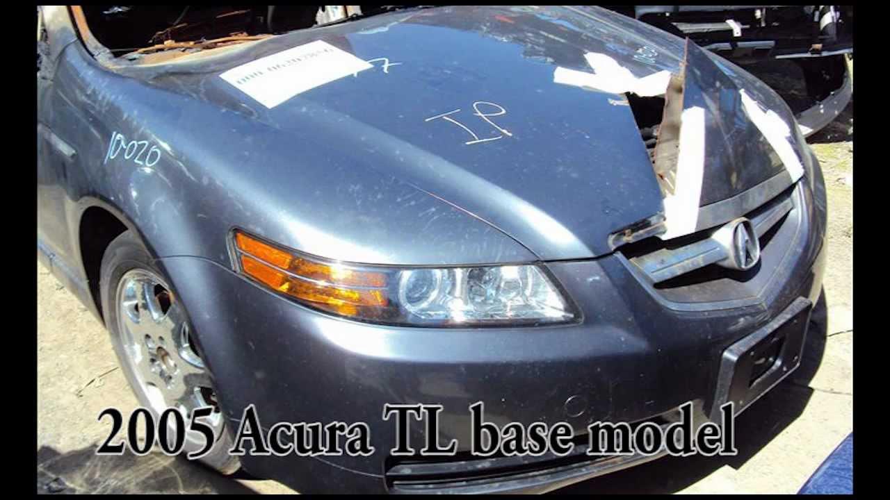 Acura TL Parts AUTO WRECKER RECYCLER Ahpartscom Acura Used - 2005 acura tl parts