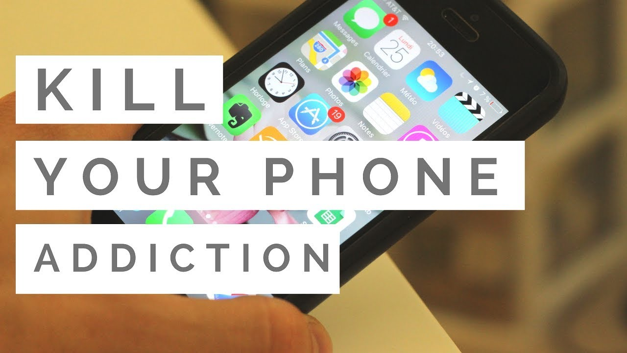 Video youtube : How to Stop Your Phone and Social Media Addiction in 3 Steps