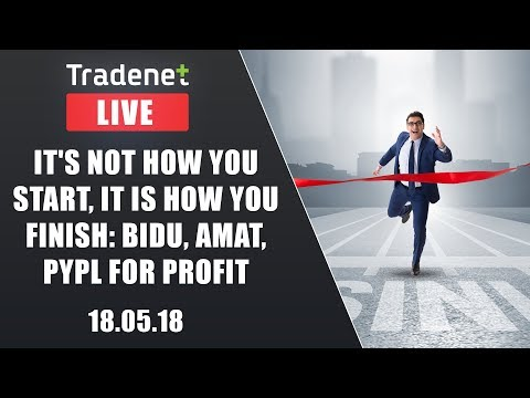 Live Day Trading room streaming - 18/5/17