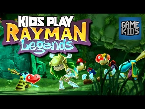 Rayman Legends Gameplay Part 1 - Kids Play