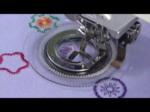 How To Use the Flower Stitch Foot