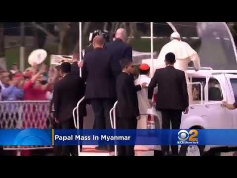 Pope Francis in Yangon, Myanmar 29/11/2017