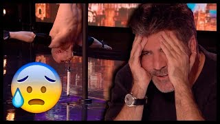 Top 7 Men's SUPER DANGEROUS SHOCKING Acts In The World!