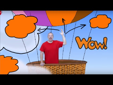 Colours with Steve and Maggie. Wow! It's  orange   English For Children   English For Kids