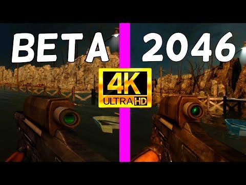Half-Life 2 - 2002 Beta vs. 2046 Build Mod - Weapons Comparison 4K 60FPS