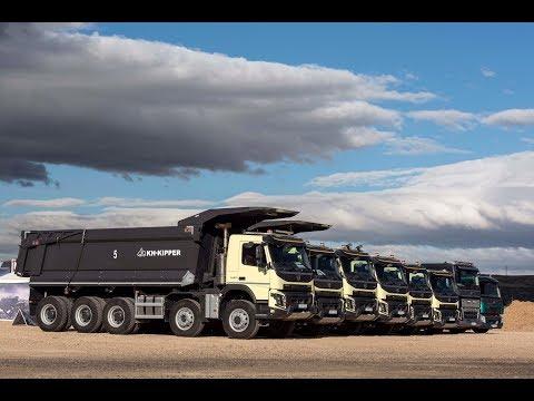 ¡¡¡Un Volvo FMX 10X6 De 68 T!!! Gama Construcción Volvo Trucks Al Completo.