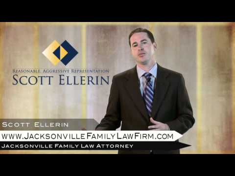 Jacksonville Divorce Attorney - Child Custody and Time Sharing