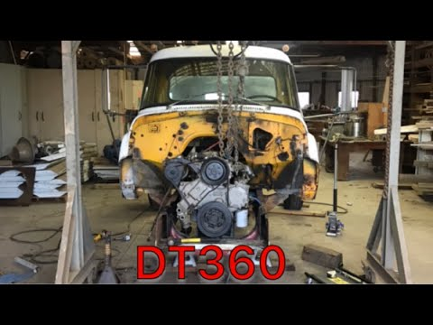Repeat Will the Tranny Bolt up to The DT360? by Ginger Auto