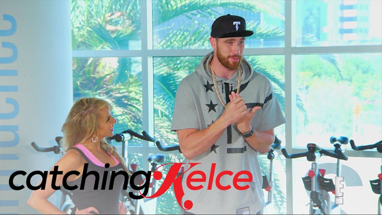 Travis Kelce Is Shocked To See Mayas Picks Catching Kelce E