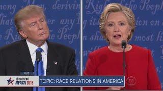 Clinton, Trump First Presidential Debate
