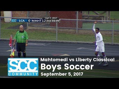 Boys Soccer - Mahtomedi vs Liberty Classical Academy - 9/5/17