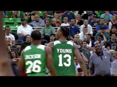 James Young Highlights vs. Utah Jazz at Utah Jazz SL (17 points)