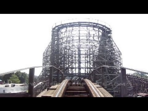 Hurler Front Seat on-ride HD POV Carowinds