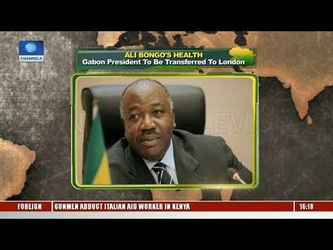 Gabon President To Be Transferred To London |Network Africa|