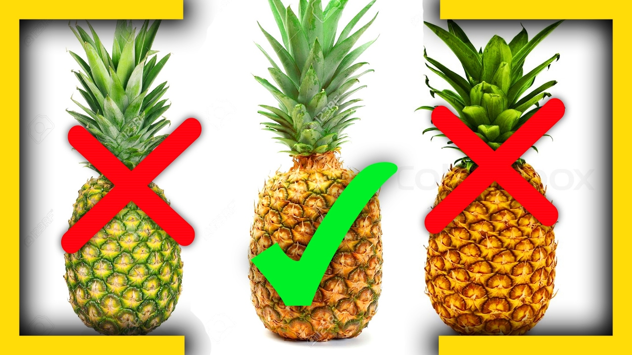 How to choose pineapple