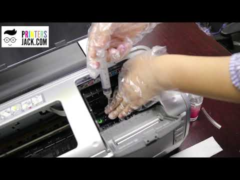 How to Clean Epson Printer Printhead