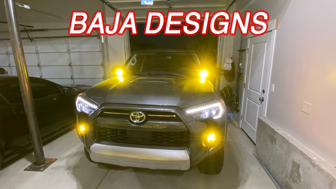 2020 4Runner Baja Designs Fog Lights and Ditch Lights Install