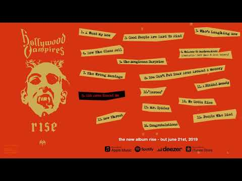 """Hollywood Vampires """"Rise"""" Official Album Pre-Listening - Album OUT NOW"""