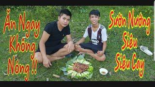 Béo Gầy TV | Sườn Nướng Siêu Cay. Ẩm Thực Béo Gầy | Super Spicy Grilled Rib.  Fatty Foods