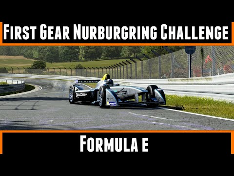 First gear nurburgring challenge formula e forza 5