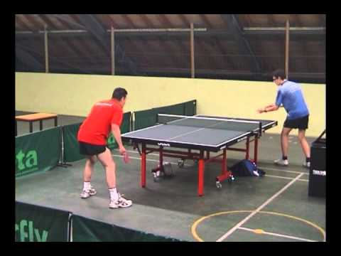 Steve Hall VS Shaun Hall - BRISTOL HARDBAT TABLE TENNIS FINAL