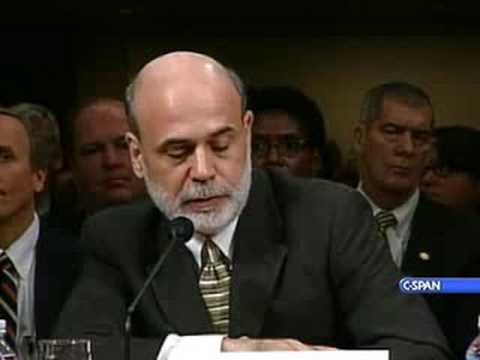 Treasury Sec. Paulson at Senate Banking Hearing