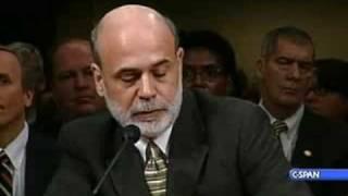 Treasury Sec. Paulson at Senate Banking Hearing