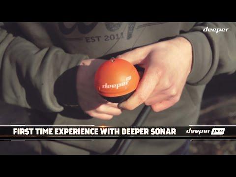 Deeper: First time experience testing Deeper Smart Sonar PRO