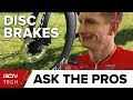 What Do Professional Cyclists Really Think About Disc Brakes?   GCN Tech At The Tour Down Under