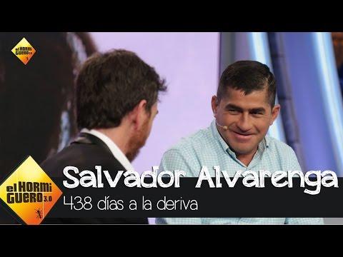 Salvador Alvarenga, el náufrago que sobrevivió 438 días a la deriva  - El Hormiguero 3.0