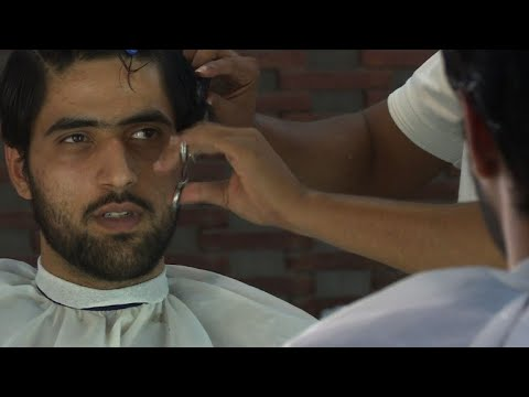Hair To Stay Men Embrace Grooming Trend In Pakistan Youtube